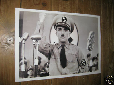 Charlie Chaplin The Dictator POSTER