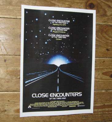 Close Encounters of the Third Kind Repro Film POSTER