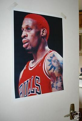 Dennis Rodman Chicago Bulls Big Brother NEW POSTER