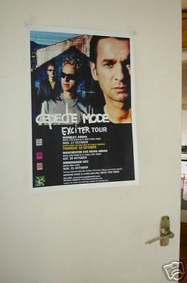 Depeche Mode Exciter Tour Repro POSTER
