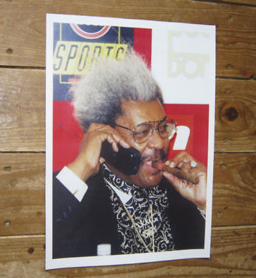 Don King Boxing Promoter POSTER