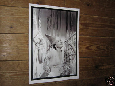 Dorothy Lamour BW  POSTER Party