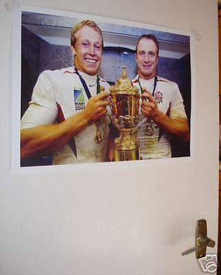 England Rugby World Cup Winners Door Poster
