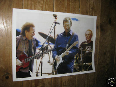 Eric Clapton Cream Live on Stage POSTER