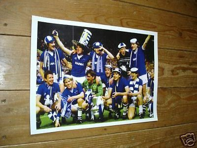 Everton FA Cup Winners Team Group New POSTER