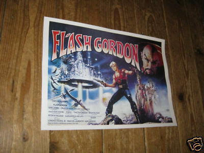 Flash Gordon Repro Film POSTER 1980s Land