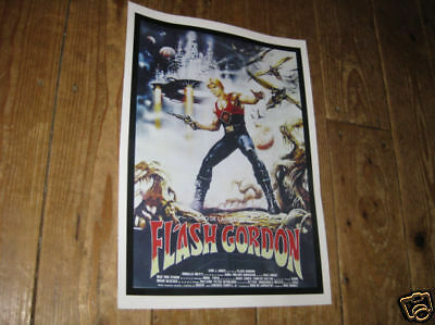 Flash Gordon Repro Film POSTER 1980s Port