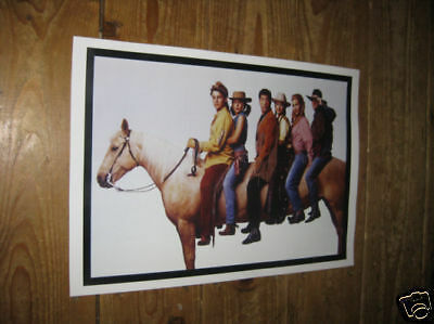 Friends Awesome Cast on Horse POSTER