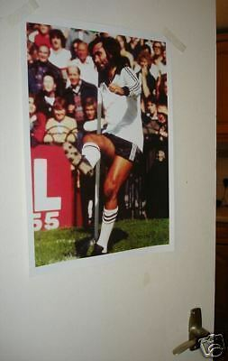 George Best Fulham Large Door Poster