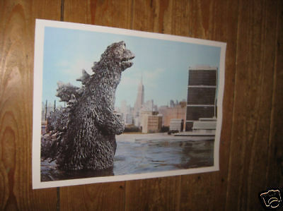 Godzilla King of the Monsters Film Scene POSTER Water