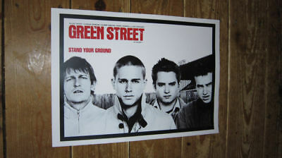 Green Street Stand Your Ground Football Repro POSTER