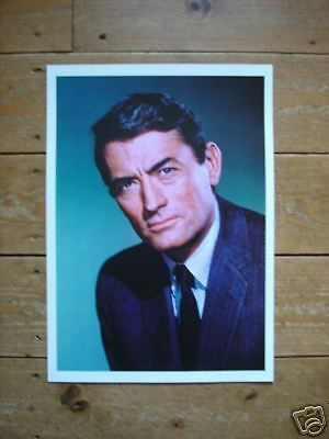 Gregory Peck NEW Poster COLOUR