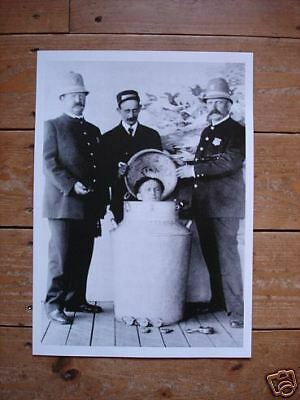 Harry Houdini Great Water Tourture Poster NEW