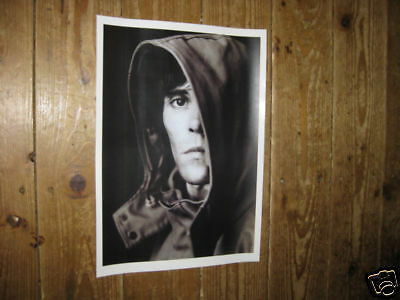 Ian Brown of The Stone Roses Hood POSTER
