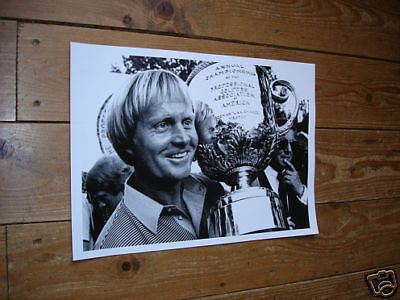 Jack Nicklaus Golf Legend Awsome Poster with Trophy