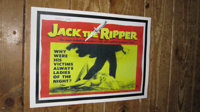 Jack the Ripper Repro Film POSTER