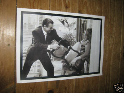 James Bond 007 Sean Connery Goldfinger POSTER Chair