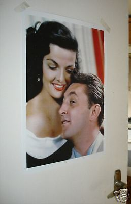 Jane Russell and Robert Mitchum NEW Poster Colour