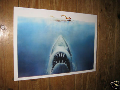Jaws Great New POSTER Shark Swimmer