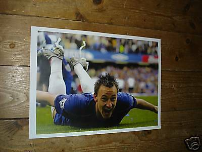 John Terry Chelsea Diving Legend Poster