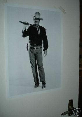 John Wayne Large Door Poster NEW #1 rif