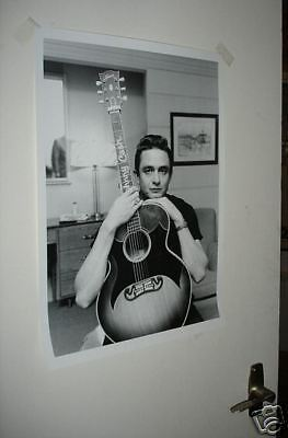 Johnny Cash Young Man BW Incredible Poster NEW