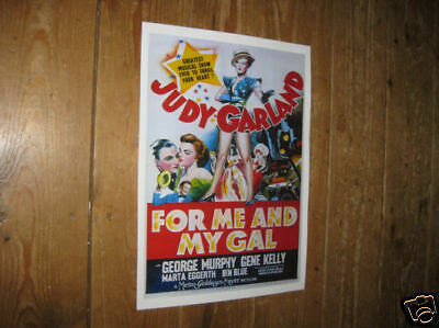 Judy Garland For me and my Gal Awsome Repro POSTER