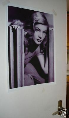 Lauren Bacall Door Poster NEW