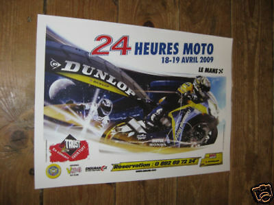 Le Mans 24 Hours Moto 2009 New POSTER