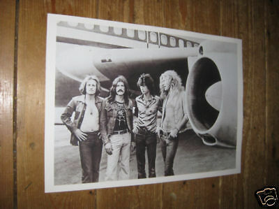Led Zeppelin Fantastic New BW POSTER Plane