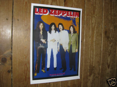 Led Zeppelin Repro Tour Poster Prog