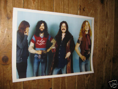 Led Zeppelin Super Group Early POSTER Beer