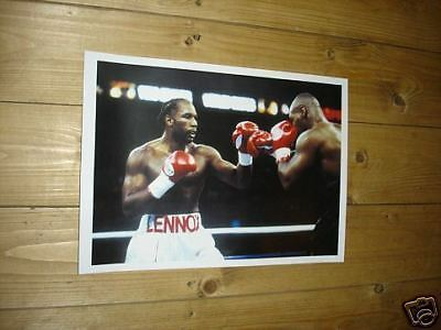 Lennox Lewis Fight Action Boxing POSTER New
