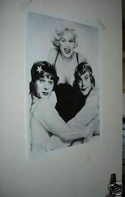 Marilyn Monroe Curtis Lemmon Some Like it Hot Poster