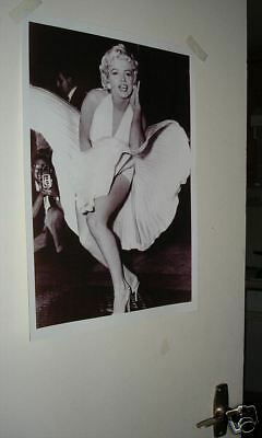 Marilyn Monroe Famous Upskirt Poster NEW Dress