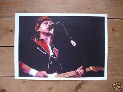 Mark Knopfler Dire Straits Great New Poster