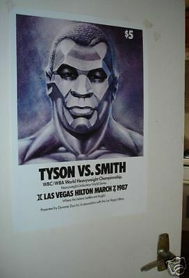 Mike Tyson Smith Repro Door Poster