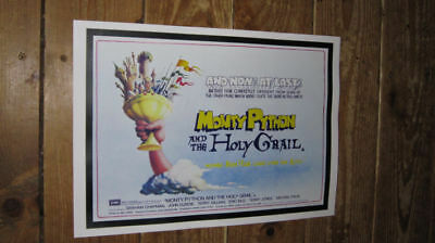 Monty Python and the Holy Grail Repro Film POSTER