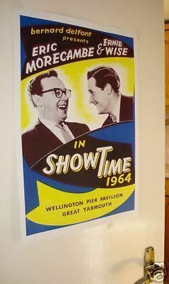 Morecambe and Wise Door Poster #4 programme 1964