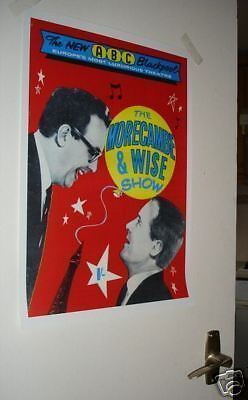 Morecambe and Wise Door Poster #4 programme Red
