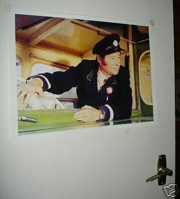 On the Buses Reg Varney Colour Door Poster