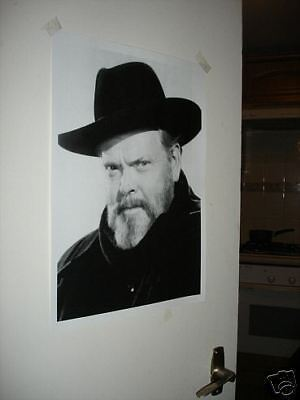 Orson Wells NEW Poster #1