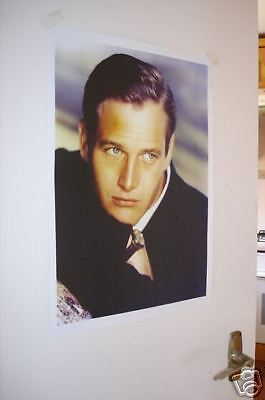 Paul Newman NEW COLOUR Poster