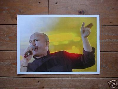 Phil Collins GREAT Poster New Yellow