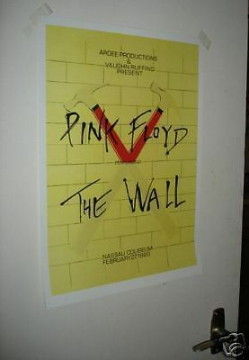 Pink Floyd Repro Tour Poster THE WALL