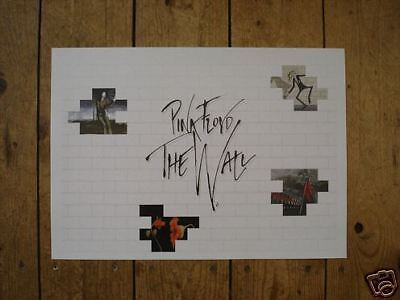 Pink Floyd THE WALL Poster Landscape