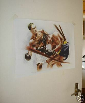 Rocky Marciano Art Work NEW POSTER