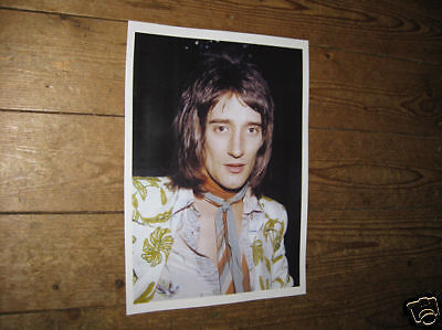 Rod Stewart Early Colour Poster Tie