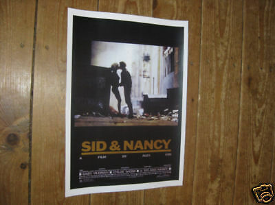 Sid and Nancy Gary Oldman Repro Advertising POSTER