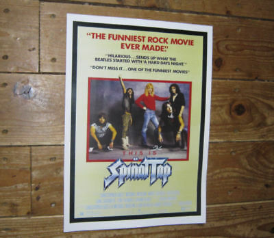 Spinal Tap Fantastic New Repro Advertising POSTER